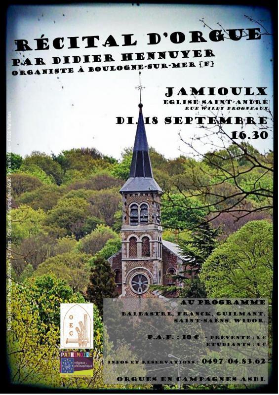 Affiche Jamioulx 18 septembre 2016